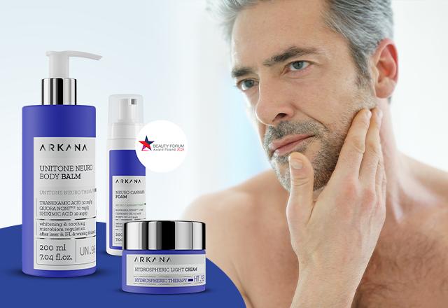 Kosmetyki na Dzień Ojca - pielęgnacja skóry męskiej