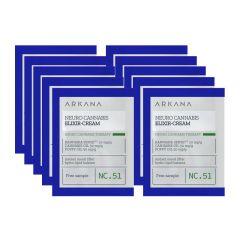 Kanabisowy neuro eliksir-krem dla skór zestresowanych i dysfukncyjnych 1,5 ml x 10 saszetek