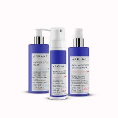 Zestaw oczyszczajacy i suplementujący skórę